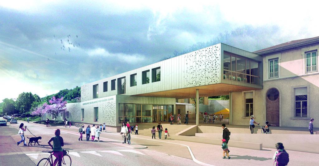 Nouveau groupe scolaire Freydière Gare