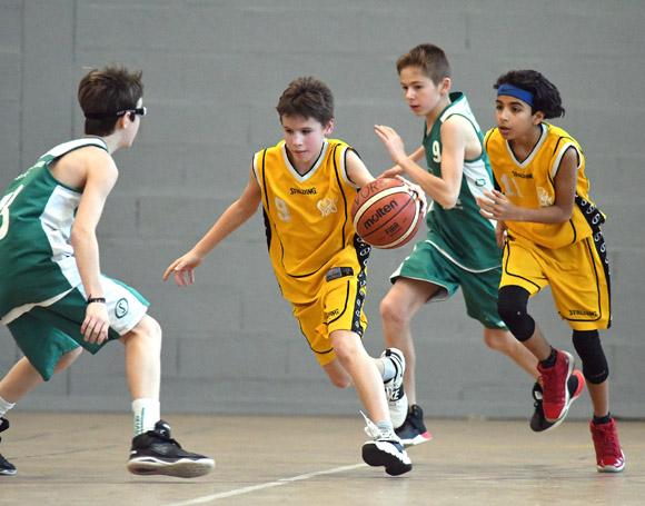 Basket Givors SOG M13 Janvier 2019