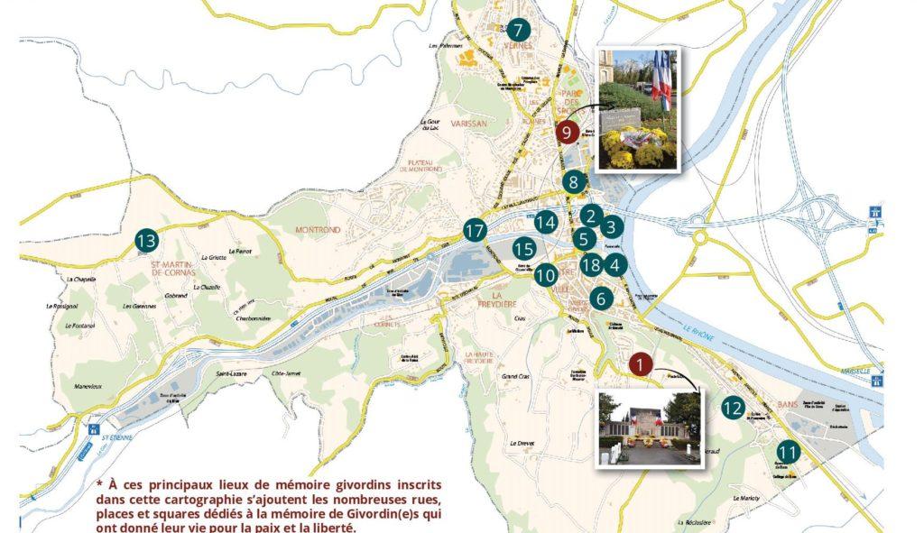 Cartographie des lieux de mémoire givordins1
