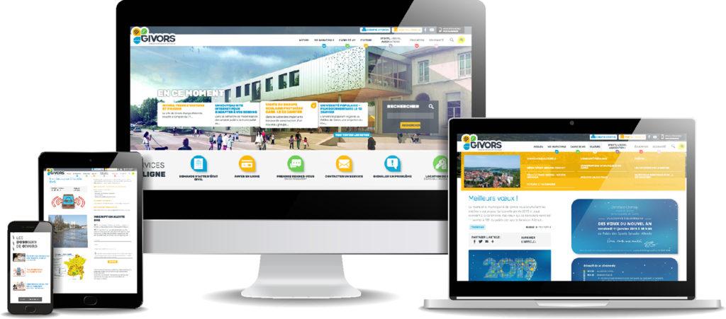 Slide nouveau site internet