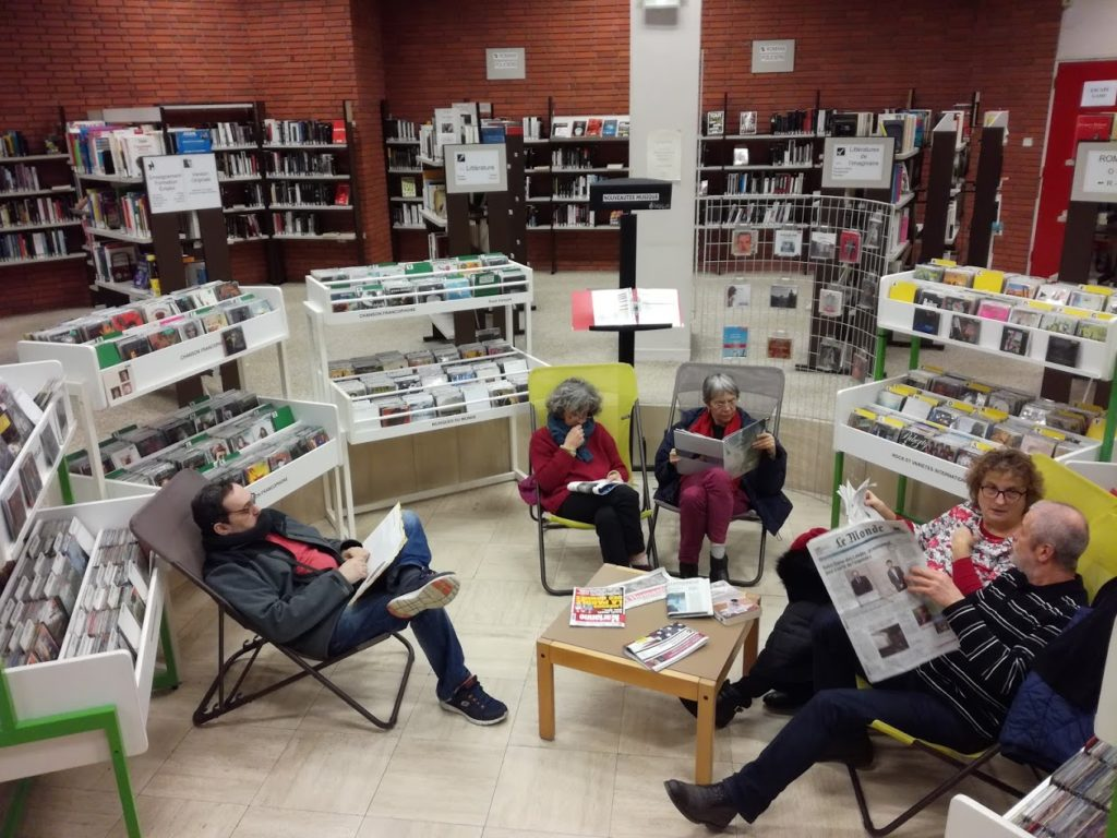 Médiathèque Max-Pol Fouchet Givors 38