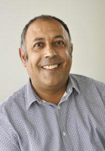 Hocine Haoues Conseiller municipal chargé de la jeunesse