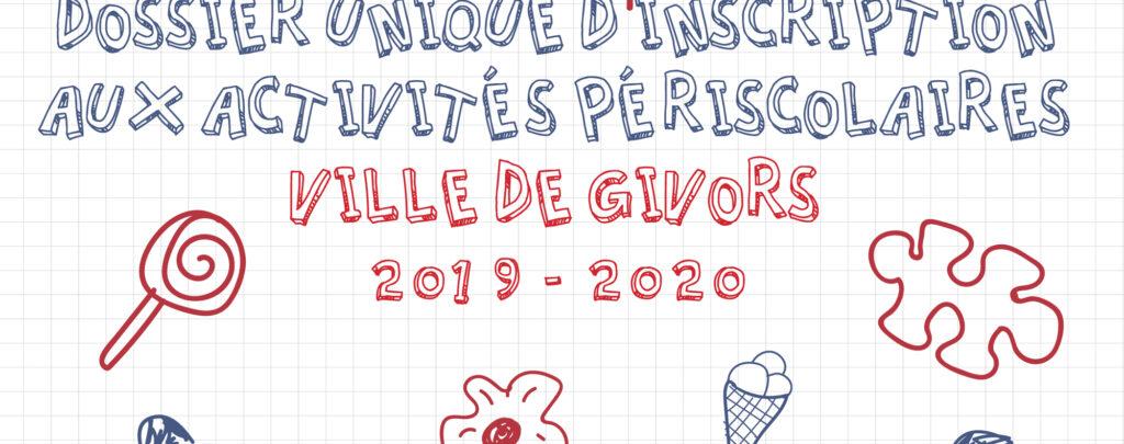 Slide dossier unique 2019-2020