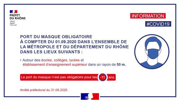 Information prefecture 31 aout 2020