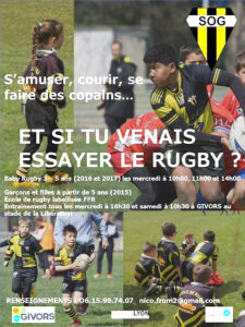 Affiche Rugby sept 2020