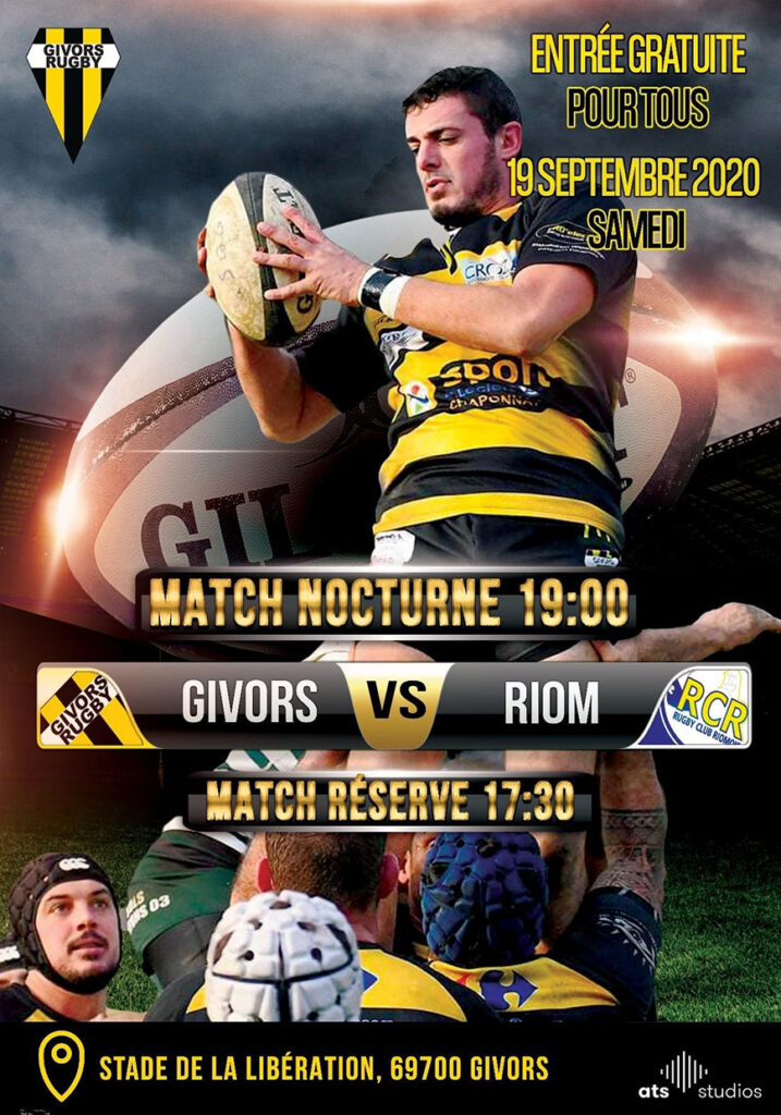 Annonce Rugby sept 2020