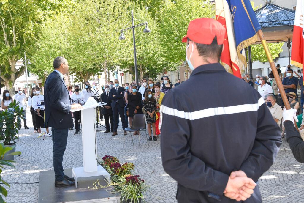 Ceremonie de Libération de Givors 5 septembre 2020