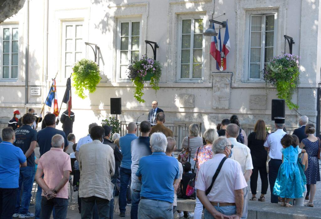 Ceremonie de Libération de Givors 5 septembre 2020 (2)