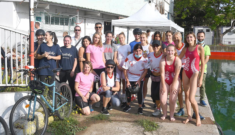 Triathlon féminin, Givors le 4 septembre 2021 © Jacques Del Pino / Ville de Givors  8781