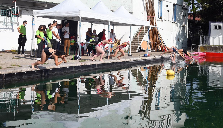 Triathlon féminin, Givors le 4 septembre 2021 © Jacques Del Pino / Ville de Givors  8797