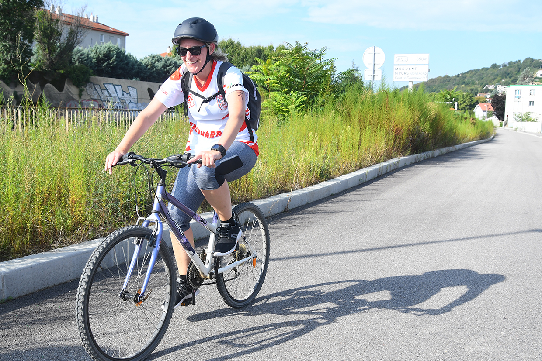 Triathlon féminin, Givors le 4 septembre 2021 © Jacques Del Pino / Ville de Givors  8826