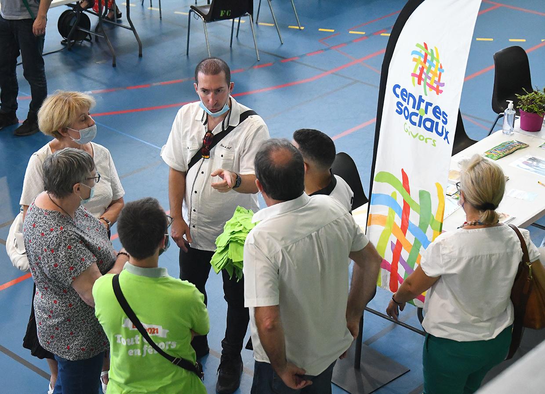 Forum des associations, Givors le 4 septembre 2021 © Jacques Del Pino / Ville de Givors 9007