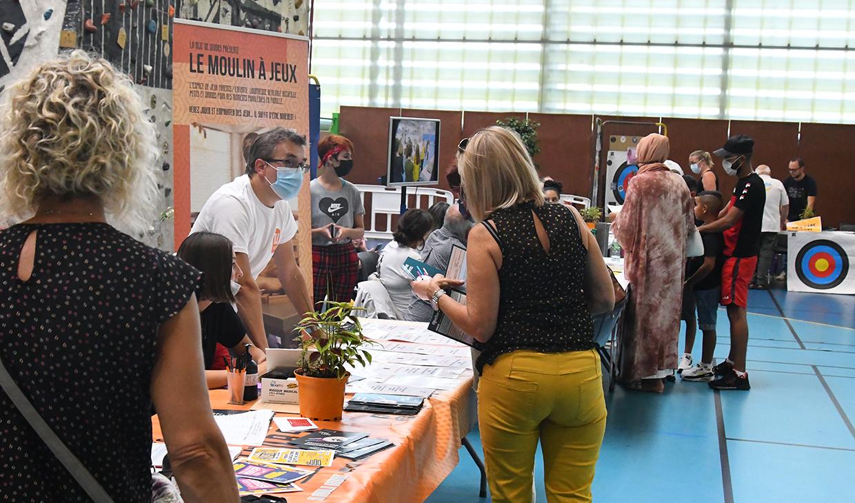 Forum des associations, Givors le 4 septembre 2021 © Jacques Del Pino / Ville de Givors 9024