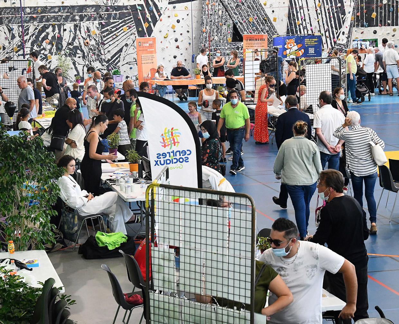 Forum des associations, Givors le 4 septembre 2021 © Jacques Del Pino / Ville de Givors 9169