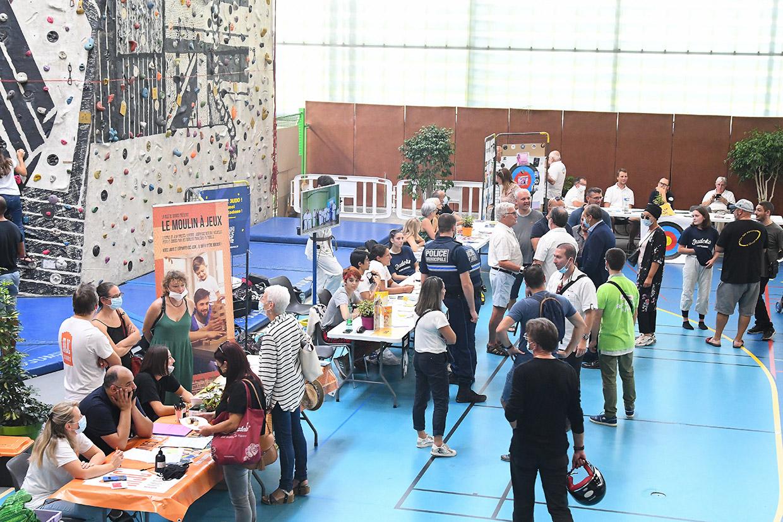 Forum des associations, Givors le 4 septembre 2021 © Jacques Del Pino / Ville de Givors 9174