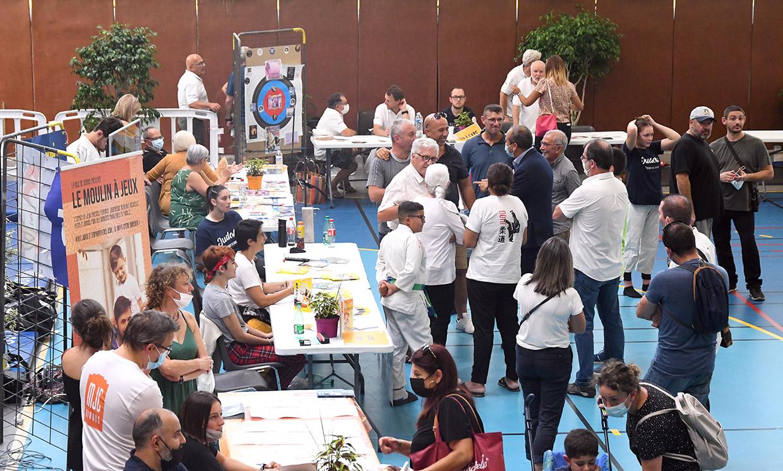 Forum des associations, Givors le 4 septembre 2021 © Jacques Del Pino / Ville de Givors 9183