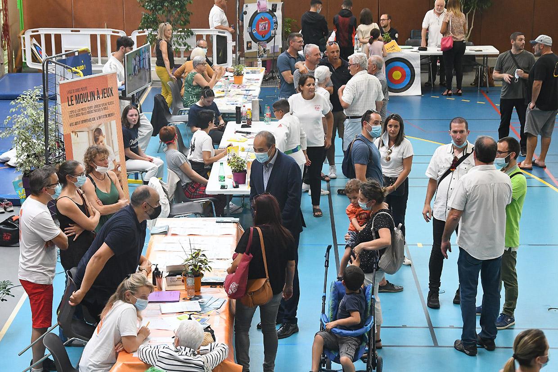 Forum des associations, Givors le 4 septembre 2021 © Jacques Del Pino / Ville de Givors 9193