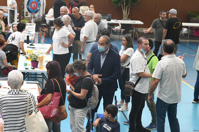 Forum des associations, Givors le 4 septembre 2021 © Jacques Del Pino / Ville de Givors 9202