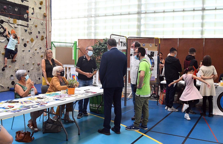 Forum des associations, Givors le 4 septembre 2021 © Jacques Del Pino / Ville de Givors 9204