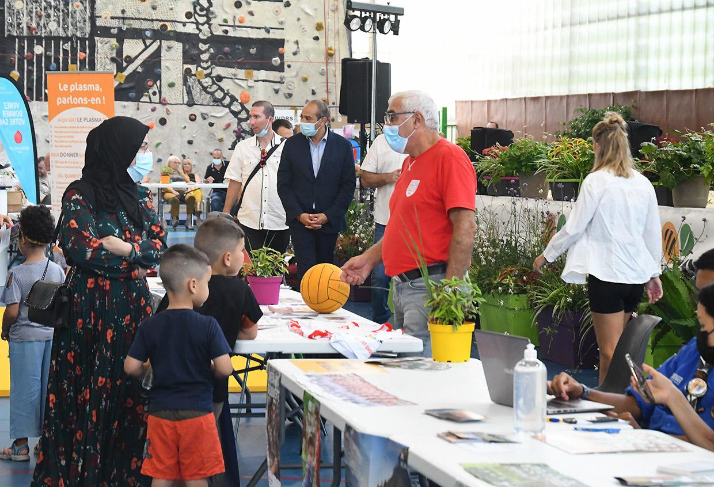 Forum des associations, Givors le 4 septembre 2021 © Jacques Del Pino / Ville de Givors 9220